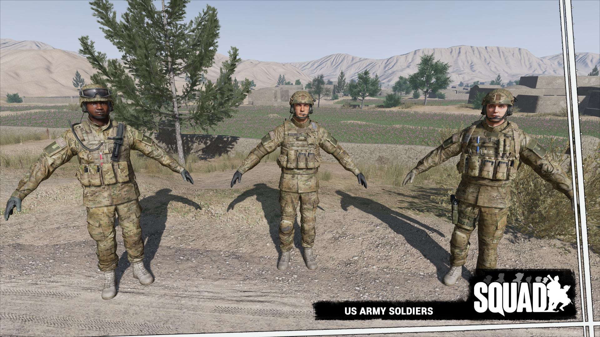 REQUEST] Squad: US Army & Russian Army Ragdolls